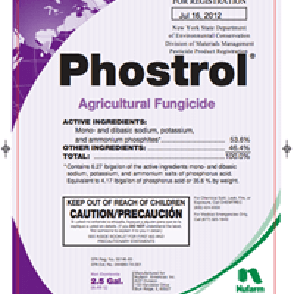 Phostrol Agricultural Fungicide (phosphorous acid)