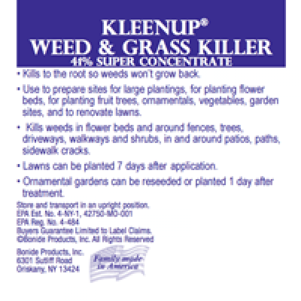 Bonide Kleen Up Weed & Grass Killer (glyphosate)