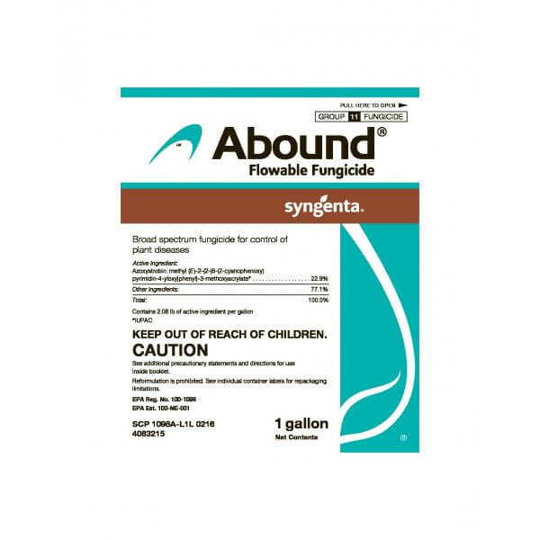 Abound Flowable Fungicide (azoxystrobin)
