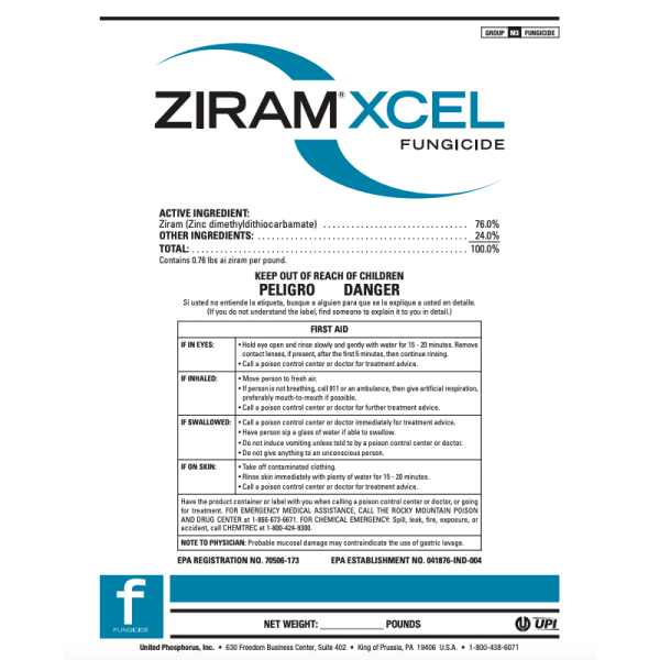 Ziram Xcel - 6 lbs.