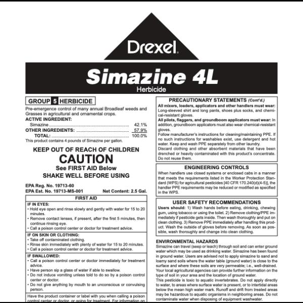 Drexel Simazine 4L (Simazine)