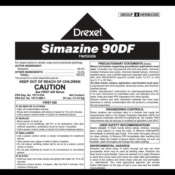 Drexel Simazine 90 DF (simazine)
