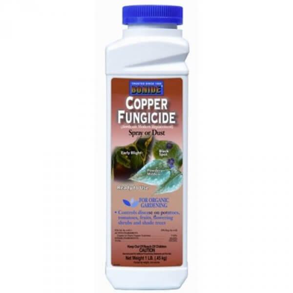 Copper Fungicide EPA# 4-58