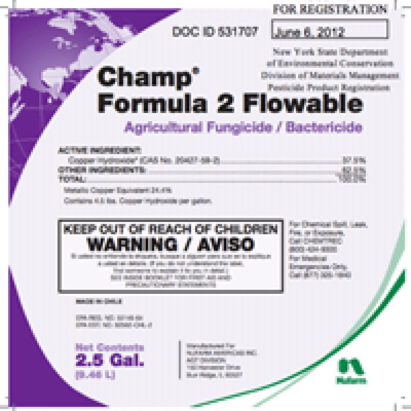Champ Formula 2 Flowable (copper hydroxide)