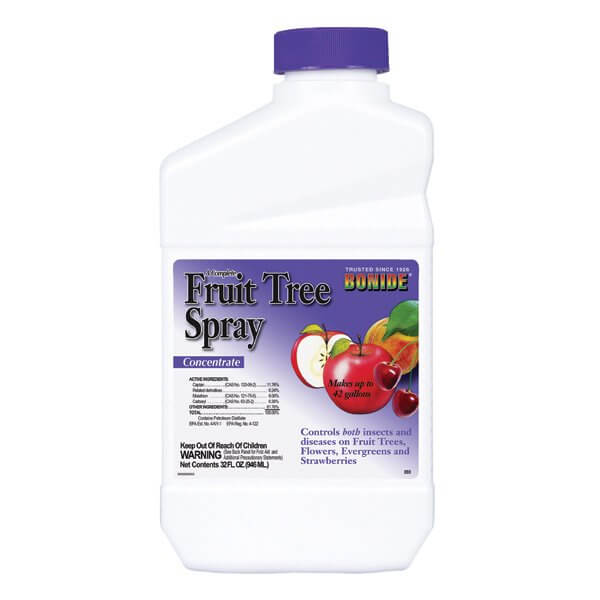 Complete Fruit Tree Spray Concentrate EPA# 4-122