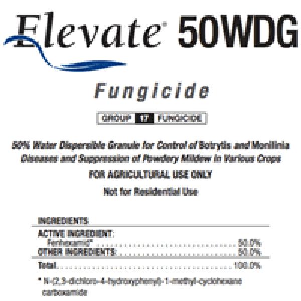 Elevate 50WDG Fungicide (fenhexamid)