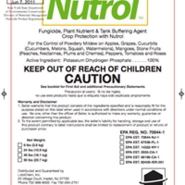Nutrol (monopotassium phosphate)